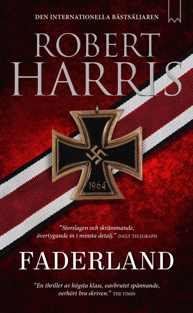 Höstläsningstips 1: Bokens omslag med en illustration av medaljen det tyska korset i guld med hakkors
