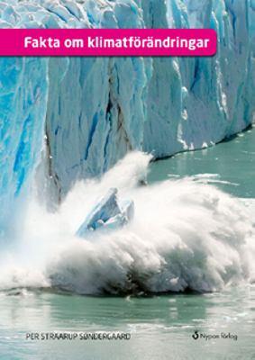 Bokomslag med foto på ett isberg som smälter