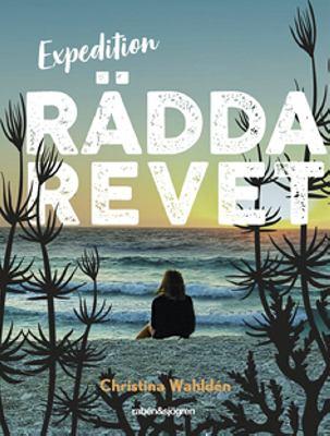 Bokomslag med en illustration som föreställer en flicka som sitter på en strand med ansiktet mot havet.