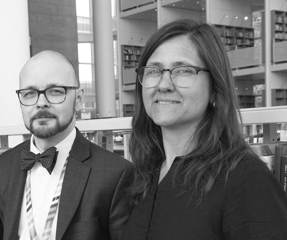 Daniel Björklund och Jenny Skantze Nyberg. Foto Suzanne Ahrling